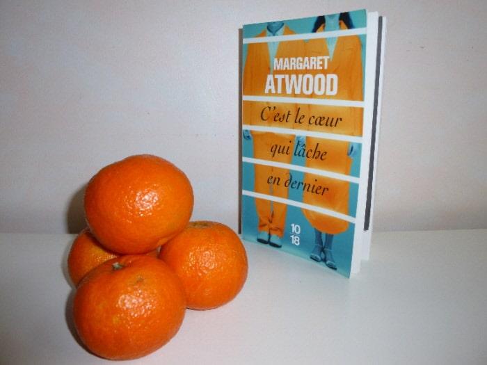 Couverture du livre de Margaret Atwood et mandarines