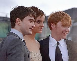 Photo de Daniel Radcliffe, Emma Watson et Ruper Grint
