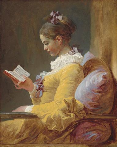 La liseuse Fragonard