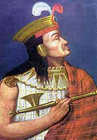 Portait d'Atahualpa