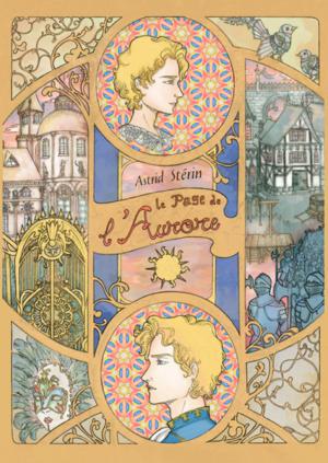 Couverture du livre d'Astrid Stérin, Le Page de l'Aurore