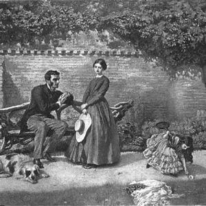 Illustration du livre de Charlotte Brontê, Jane Eyre