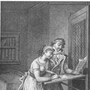 Illustration pour le roman de Pierre Choderlos de Laclos' Les Liaisons dangereuses