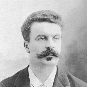 Portrait de Maupassant