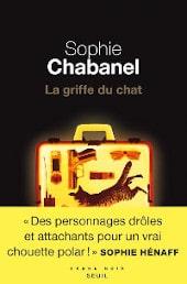Couverture du roman de Sophie Chabanel, La griffe du chat