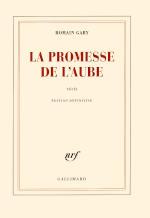 Couverture du livre de Romain Gary, La promesse de l'aube