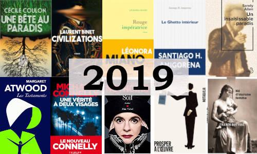 Des couvertures de livres parus en 2019