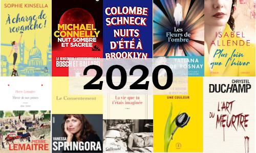 Des couvertures de livres parus en 2020