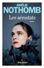 Couverture du livre d'Amélie Nothomb, Les aérostats