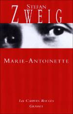 Couverture du livre de Stefan Zweig, Marie-Antoinette