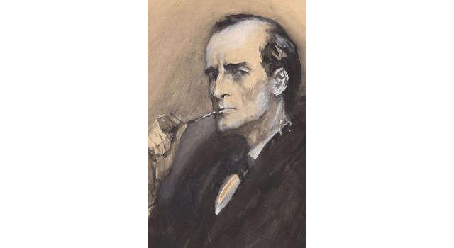 Portrait de Sherlock Holmes