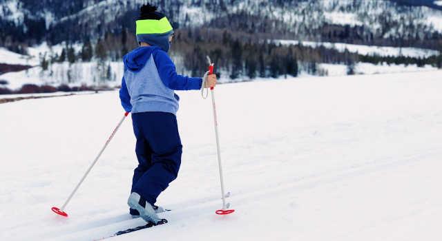 Enfant à ski