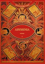 Couverture du livre d'Alexandre Page, Abyssinia