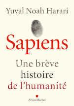 Couverture du livre de Yuval Harari, Sapiens, une brève histoire de l'humanité