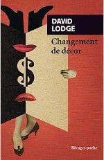 Couverture du livre de David Lodge, Changement de décor