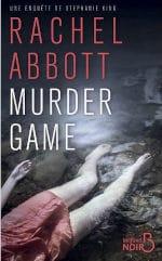 Couverture du livre de Rachel Abbott, Murder game