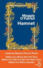 Couverture du livre de Maggie O'Farrell, Hamnet