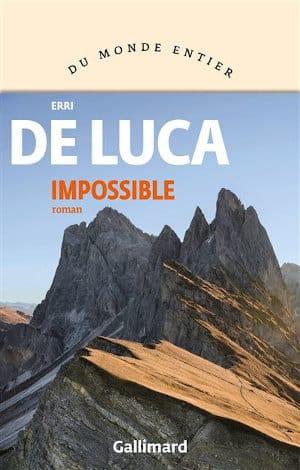 Couverture du livre d'Erri De Luca, Impossible