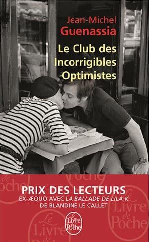 Couverture du livre de Jean-Michel Guenassia, Le Club des Incorrigibles Optimistes