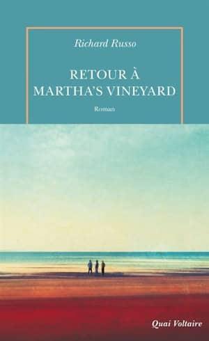 Couverture du livre de Richard Russo, retour à Martha's Vineyard