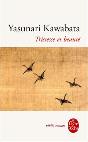 Couverture du livre de Yasunari Kawabata, Tristesse et beauté
