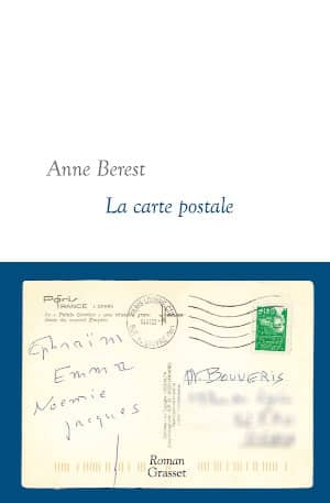 Couverture du livre d'Anne Berest, La carte postale