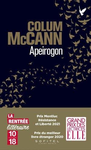 Couverture du livre de Colum McCann, Apeirogon