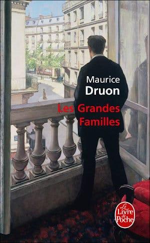 Couverture du livre de Maurice, Druon , Les grandes familles