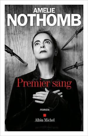Couverture du livre d'Amélie Nothomb, Premier sang